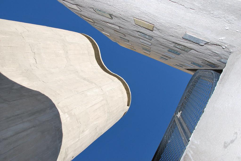 Le Corbusier, Unité d'Habitation, Marseille - on the roof