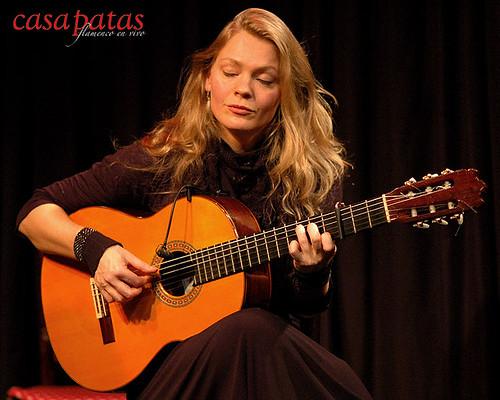 La guitarrista Bettina Flater. Foto: Martín Guerrero