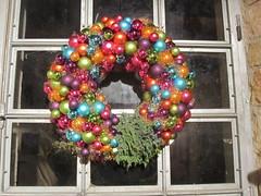 decor, christmas decoration, wreath,