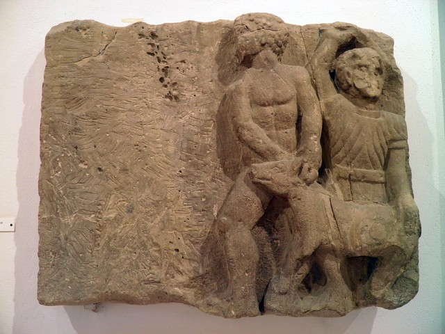 Relief: Scene of Sacrifice, Seville Archaeological Museum