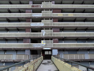 You're now entering......Heygate Estate