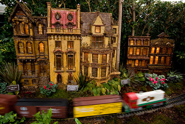 Holiday Train Show, NYBG