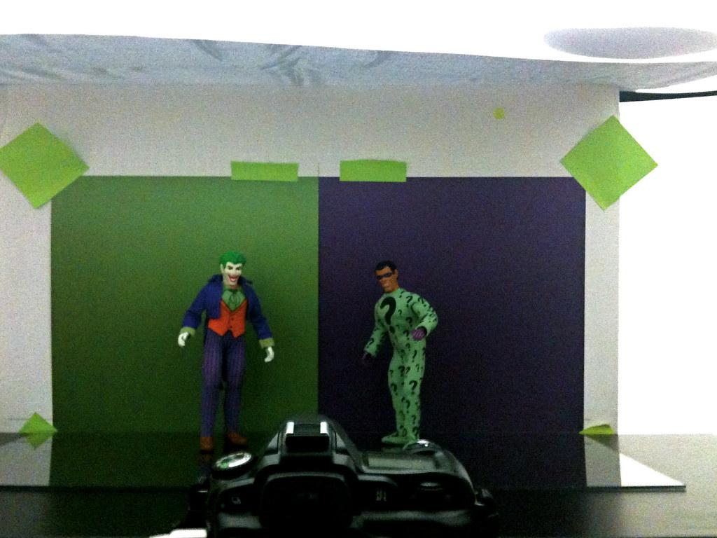 Joker vs. Riddler Setup