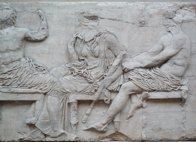 Parthenon, East Frieze, Slab 4 (Gods) | Flickr - Photo ...