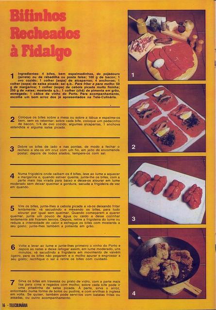 Tele Culinária e Doçaria, Especial Outono, Setembro 1980 - 14