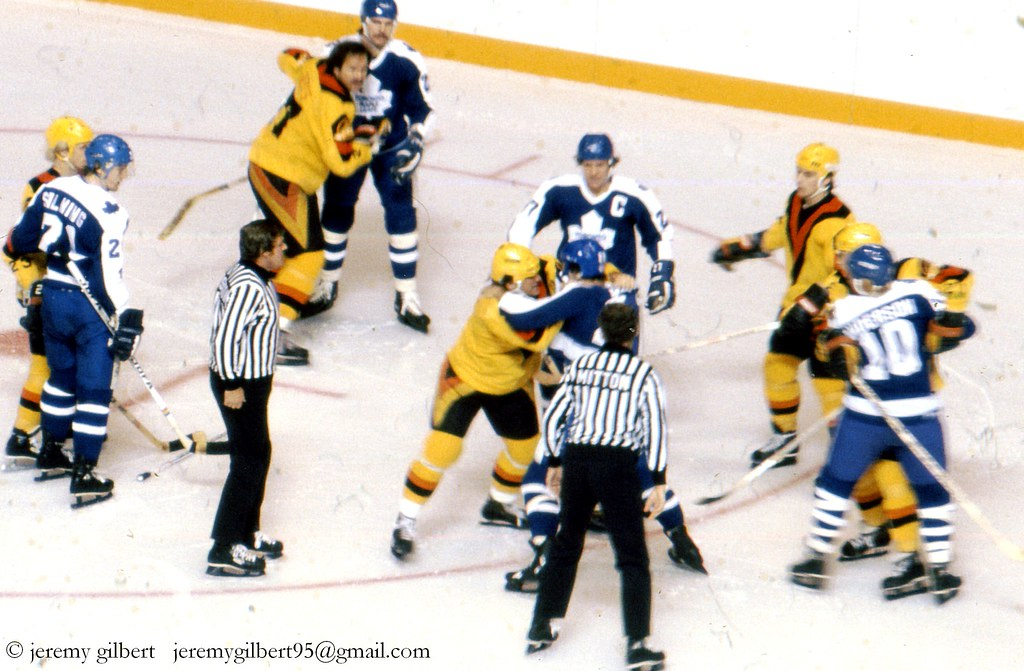 an overview of the violent fights in the national hockey league The origins, history and growth of ice hockey including important milestones, changes and the golden era's  the national hockey league (nhl) the nhl,.