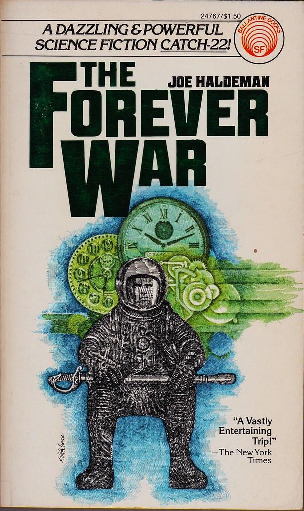 From Fifty Year War To Forever War >> Ballantine 0345247671 Joe Haldeman The Forever War Balla Flickr