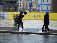 High Heels and Recalcitrant Umbrella