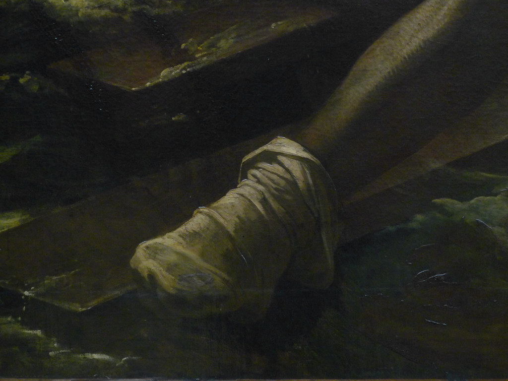 g201ricault raft of the medusa with detail of stocking a