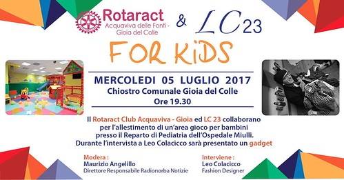 Clownterapia rotaract al miulli