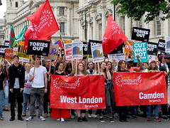 Unite say: Tories Out!