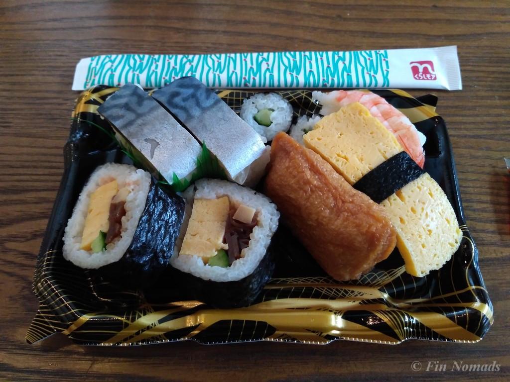 cheap sushi japan