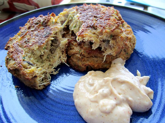 Crab Cakes Baked In Shell