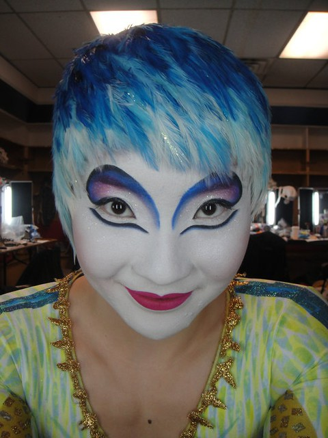 Harlequin Clown Makeup http://narzipan.blogspot.com/2012/05/narzipans-clown-stylee.html