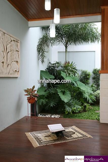 Desain Mushola Mungil di Teras Belakang Rumah | Flickr ...