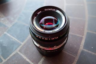 Olympus OM 50mm F1.8. Amazing.
