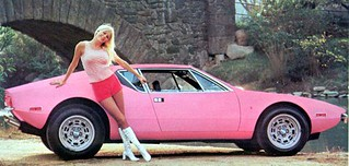 1972 DeTomaso Pantera
