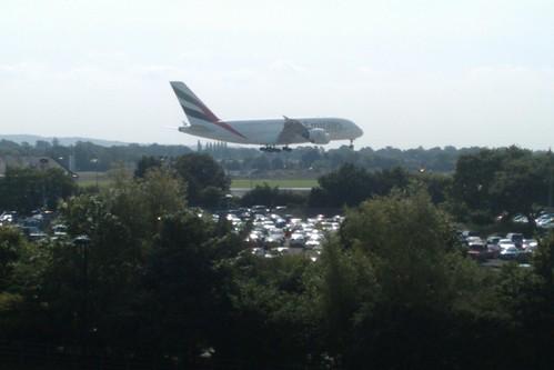 A380 landing
