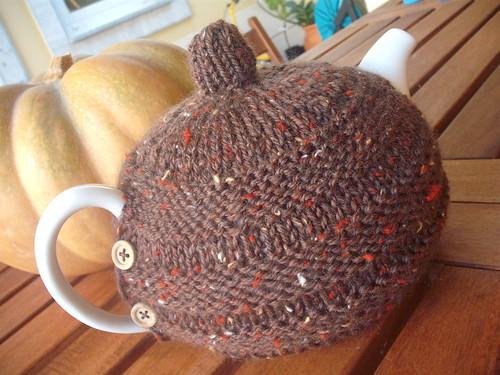 abafador para bule de chá