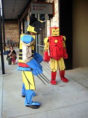 Iron Man and Wolverine