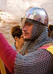Fête Médiévale_Man at Arms