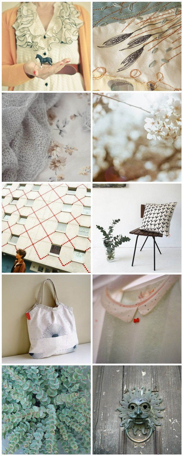 colour palette : a Blissful special - curated by Emma Lamb