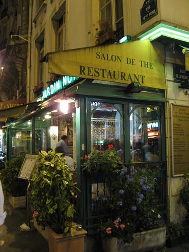 Flickriver photoset 39 paris london food lodging for Restaurant paris jardin
