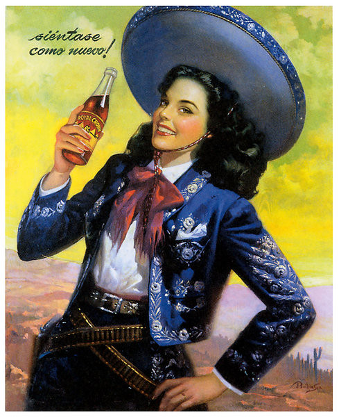 Mexican Calendar Girl Art : Mex calendar girl flickr photo sharing