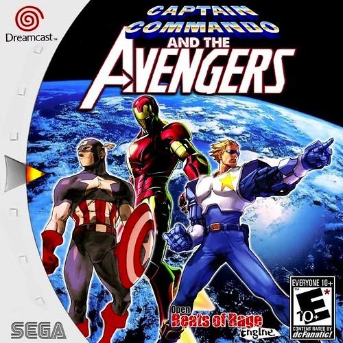 CAPTAIN COMMANDO AND THE AVENGERS (BOR MOD - SELF BOOT) 4983727050_9745e13ffd