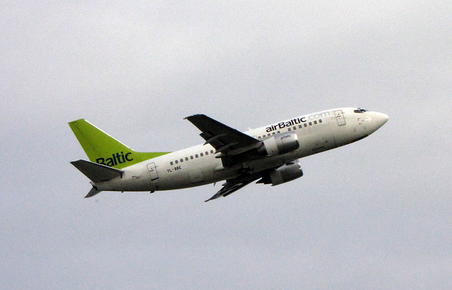 Header of AirBaltic