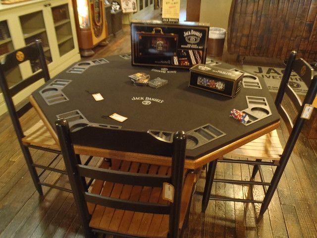 Jack daniels poker table flickr photo sharing