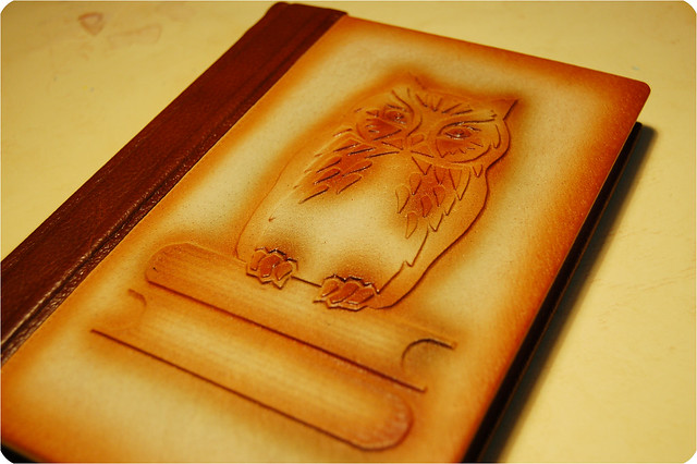 Leather journal photo by iHanna - Copyright Hanna Andersson