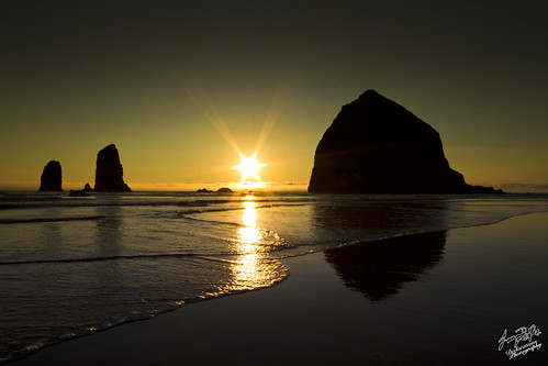 Cannon Beach Oregon @ Sunset