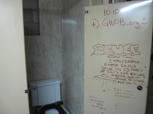 GWOBorg on the Bathroom Wall!