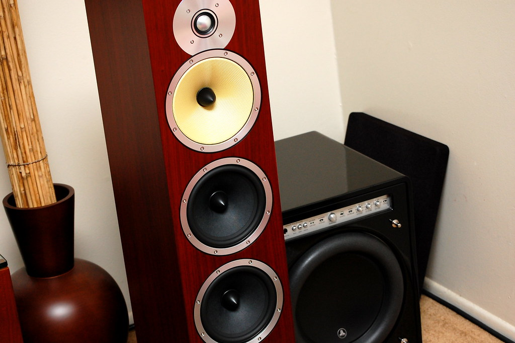 sold bowers wilkins b w cm9 speakers in rosenut nyc pickup. Black Bedroom Furniture Sets. Home Design Ideas