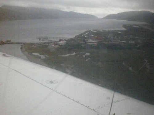 Landing in False Pass, AK