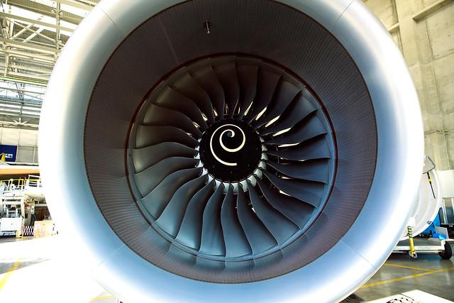 Réacteur d'avion - © Laurent Jégou / Flickr Creative Commons