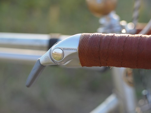 Motobecane Super Mirage, Shimano Bar-end Shifters