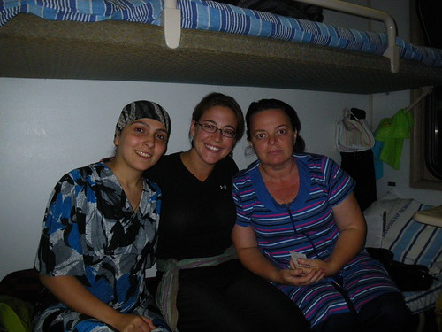 Women on the Train in Kazakhstan