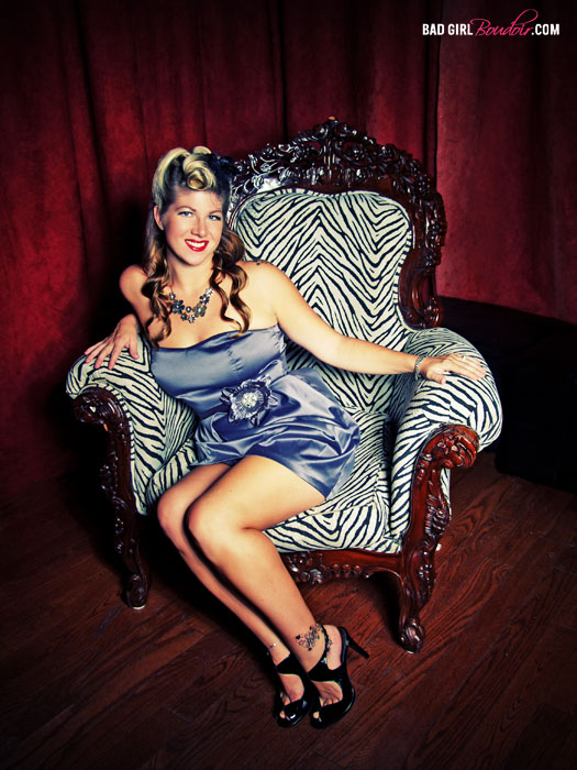 Jacksonville Pin-Up Photography // BAD GIRL Boudoir