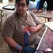 The Mastermind behind @3DVillage @ #MakerFaire; Thanks John! by aplumb