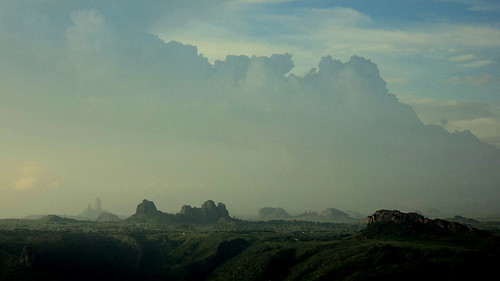 africa light panorama clouds landscape volcano photo amazing fantastic scenery background details dream mount cumulus dyke nuages sfumato cameroon myst cameroun volcan