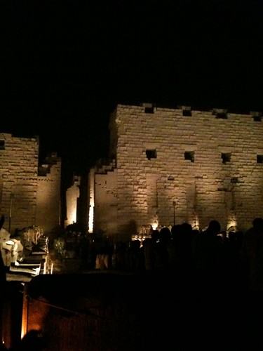 Karnak at night