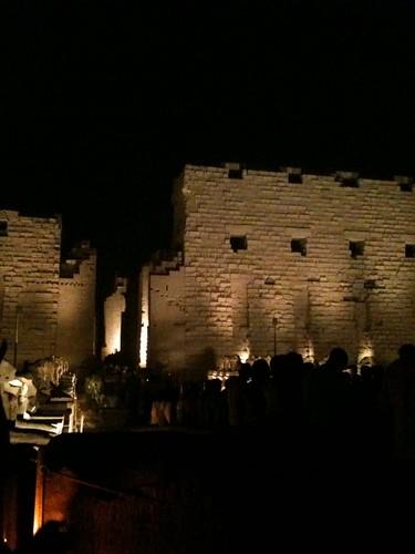 Karnak at night