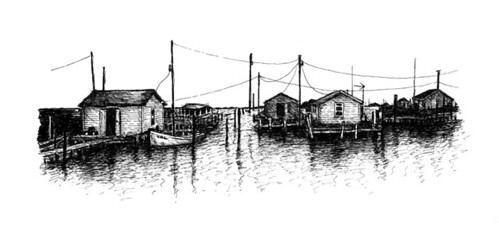 Tangier Island Sketch