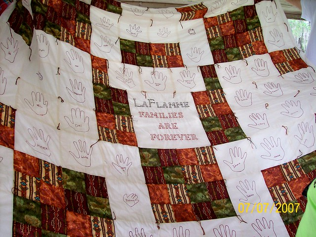 The Quilt Joyce Made - LaFlamme Families Are Forever