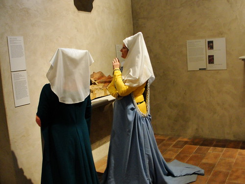 Surreal Medieval Scene
