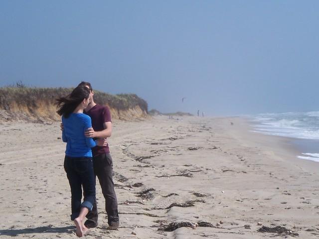 anna and ian on cisco beach