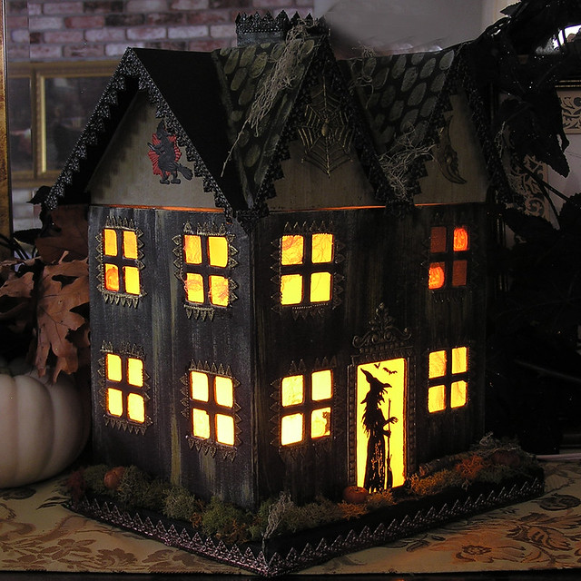 Image Result For Simple Haunted House
