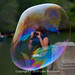 Soap Bubble Paparazzi, Bethesda Fountain, Central Park by Luke Robinson